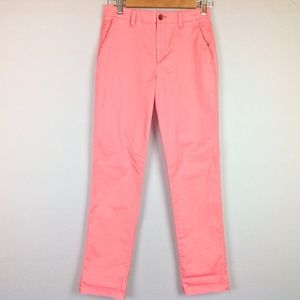 Gap Chino Pants Womens 00 Girlfriend Coral Pink